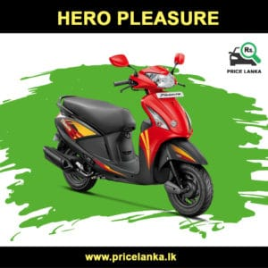 Hero Pleasure Price in Sri Lanka