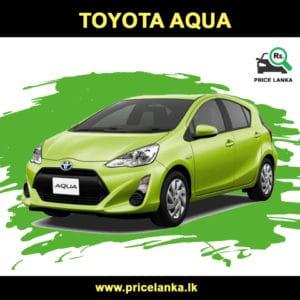 Toyota AQUA Prius C Hybrid Price in Sri Lanka