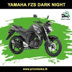 Yamaha FZS Dark Night Price in Sri Lanka