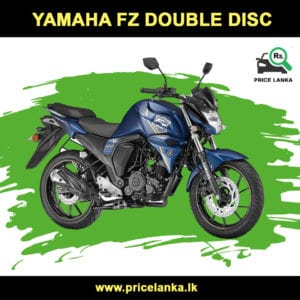 Yamaha FZS Double Disc Price in Sri Lanka