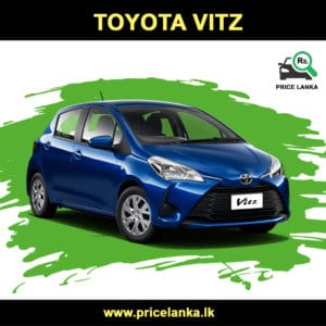 Toyota Vitz Price in Sri Lanka