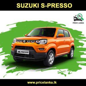 Suzuki S-Presso Price in Sri Lanka