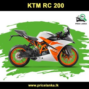 KTM RC 200 Price in Sri Lanka