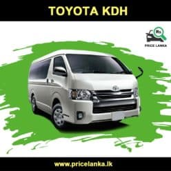 Toyota KDH Van Price in Sri Lanka