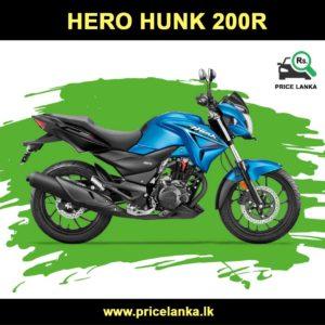 Hero Hunk 200 Price in Sri Lanka