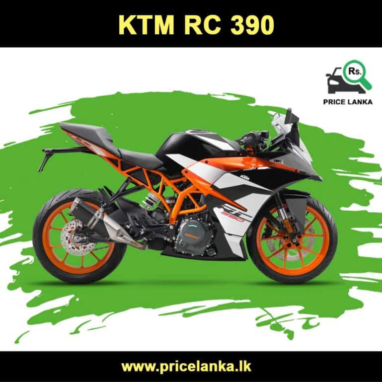 KTM RC 390 Price in Sri Lanka