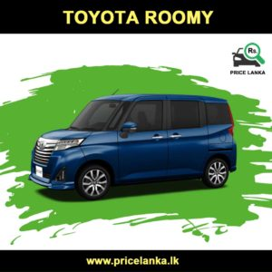 Toyota Roomy Price in Sri Lanka