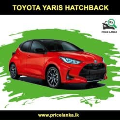 Toyota Yaris Price in Sri Lanka