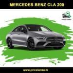 Mercedes Benz CLA 200 Price in Sri Lanka